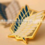 metal pin badge; button pins; custom metal badges; Scouting Legion Gold Badge Recon Corps Brooch Pins
