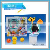 Hot Sale New Item Mirror Baby Bath Set Combination Window Box Package Combination Duck Bee Ball Fun Play Kid Toys