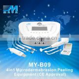 MY-B09 high frequency therapy machine ,beauty aqua ultrasonic peeling portable (CE Approved)