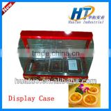 2013 Best portable hot food glass warming display warmer,cake display showcase model CY-97