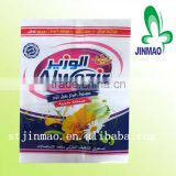 Dishwashing powder packaging bag with custom design