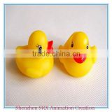 customized logo cute hot sale baby bath toy soft plastic floating duck,wholesale customized logo floating soft plastic toys