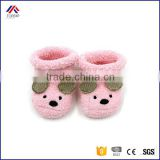 HOT SALE Cute Cartoon Baby Bear Manual Slipper Shoes Newborn to 6 Month Autumn Winter Infant Socks