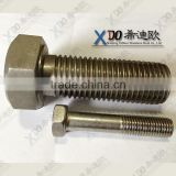 alloy20 industrial bolts and nuts hex bolt uns n08020 M39X180