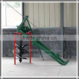 Post hole digger for tractor ground drill machine