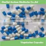 Vegetarian hollow Capsules with Halal and FDA certification