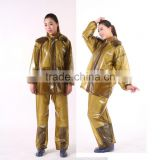 high elastic soft clear transparent pvc film custom made durable cheap ladies plastic raincoats with hood