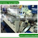 leather splitting machine for wet blue leather
