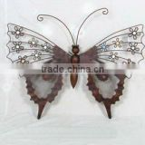 metal butterfly wall art decoration