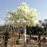 White birth Decorative large tree for wedding decoration cherry artificial tree wedding blossom tree