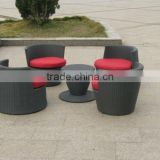 Outdoor All Weather Garden Rattan Coffee And Tea Table Sets