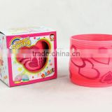 promotional good quality magic rainbow spring toys for sale/rainbow circle