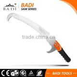10.5inch/13inch three side grinding teeth ABS handle pruning saw with 2 sharp pruning knife