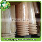 varnished wooden broom handle made from eucalyptus and selling to Lybia