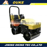 electric start frequency conversion type road roller,electric start compaction equipment,diesel double steel wheel road roll