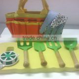 High quality lovely kids garden play tools set