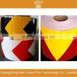 Waterproof sheeting Sensitive acrylic adhesive reflective tape in specification 50mm*50yds/roll