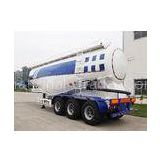 48CBM Bulker Cement Truck With Air Compressor And Diesel Engine