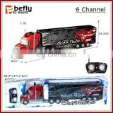 1:32 sacle plastic toy remote control truck