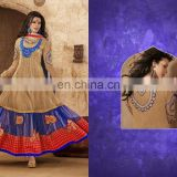 Indian Pakistani Anarkali readymade wholesale Suit R1272