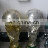 custom poly resin craft football award trophy ,custom make basketball gold and silver world cup replica award trophy