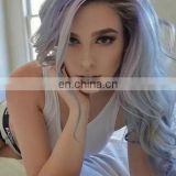 2015 Most Fashionable 7A Brizilian Human Virgin Gray Hair Extention Hair Gray Hair