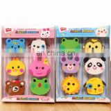 animal eraser set