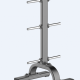 CM-950 Vertical Plate Tree Weight Plate Rack