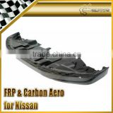 For Nissan R35 Carbon Fiber GTR OEM Front Lip with under tray