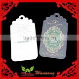 factory made special hang tags design, plastic tag, jeans paper hang tag