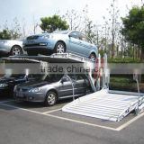 PE-PTJ 301-20 Two Post Tilting Parking Lift, Home Garage Indoor Park Equipment, Home Garage Two Post Car Parking lift