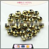 Factory directly wholesale diy crystal galss loose flat beads                                                                         Quality Choice