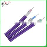 Latest style,PVC flat,factory price 3 cores microphne cable