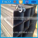 Tianjin square rectangular pipe ! glass water pipe structural welded rectangular hollow sections