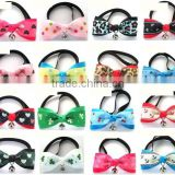 Pet Adjustab Necktie Clothes Bell Cute Dog Cat Puppy Bow Tie