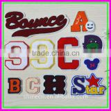 11pcs/Lot Fashion Sample Trial Order Sew-on Hot Fixed Cheap Letter OEM ODM Towl Computer ebroideried Fabric Patches                                                                         Quality Choice