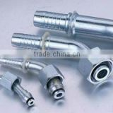stainless steel hydraulic hose fitting / rubber hose fitting