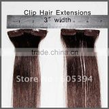 Hot selling high quality afro kinky curly clip in hair extensions 100% human hair best selling