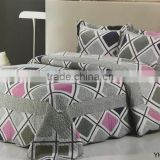 2016 eco friendly new fabric 100% cotton printed bed room furniture bedroom set