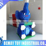 Promotional High Quality ABS toy bricks set building blocks ,Large size bricks,safe for kids