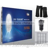 Alibaba China Pop Up Exhibition Stand,PVC/Fabric Pop Up Banner Display Stand