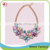 New Elegant Butterfly Necklaces Fashion Chunky Necklaces Wholesale