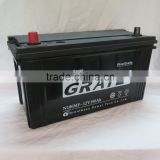hotsale 12V100Ah sealed maintenance Free lead acid battery automotive/car/ N100 auto battery