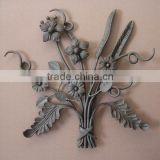 modern wrought iron decorative panels for fence gate/ornamental component                                                                         Quality Choice