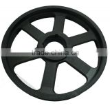 Wear-resisting pulley wheel for air compressor/ motor pulley for compressor / pulley wheel