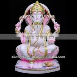 White Marble Ganesh Statue Lord Marble Ganesha Sculpture
