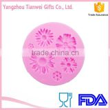 Daisy flower shape sugar cake mold cake tools FDA certified fondant decorations factory direct