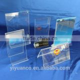 New Products Acrylic Brochure holder, Acrylic Magnetic Sign Holder, Acrylic Tent Card Holder