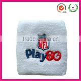 2013 hot selling cheap promotional Cotton sweatband,sports embroidery terry wrist sweat band                                                                         Quality Choice