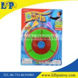 New design plastic magnetic dart game toy